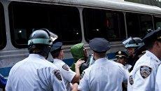 В Нью-Йорке арестованы участники движения Захвати Уолл-стрит