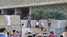 Беспорядки у посольства США в Каире, Египет