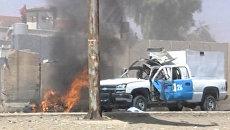 Серия терактов в Ираке. Кадры с места взрывов