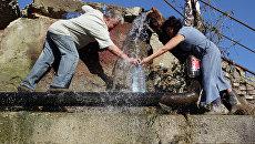 Последствия наводнения в поселке Новомихайловский