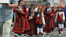 Концерт коллектива Бурановские бабушки в Новосибирске. Архив