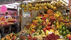 Барселона Испания рынок продукты
