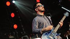 Участник группы Linkin Park Майк Шинода. Архивное фото