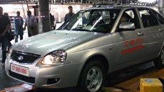 Lada цвета снежная королева стала 27-миллионной машиной АвтоВАЗа