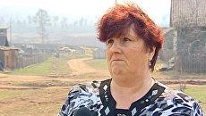 Очевидцы рассказали, как лесной пожар уничтожил два дома под Иркутском