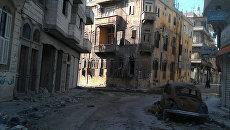 Разрушения в сирийском городе Хомс