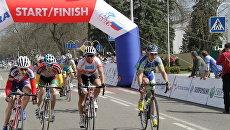 Международная велогонка Гран-при Сочи финишировала в Краснодаре