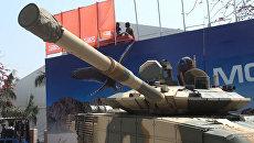 Т-90С с кондиционером и новой пушкой впервые представлен за рубежом