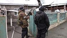 Уничтожение главаря бандподполья в Нальчике. Кадры спецоперации