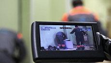 Установка камер на избирательном участке. Архив