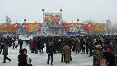 Митинг в Волгограде. Архив
