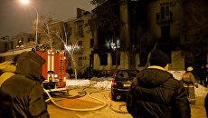Последствия взрыва газового баллона в кафе Белладжио в Волгограде