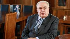 Ректор Московского Государственного унивеситета Виктор Садовничий. Архивное фото