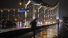 Дождливая погода в Москве. Архивное фото