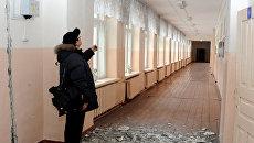 Последствия землетрясения в Туве. Архив