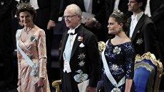 Церемония награждения Нобелевскими премиями 2011 в Стокгольме