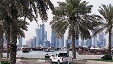 Набережная Корниш в столице Катара Дохе. Архив