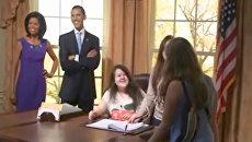 Барак Обама уступает место посетителям музея Тюссо в Бангкоке