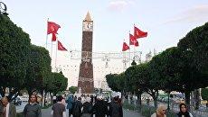 В центре Туниса