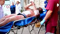 Игрок ХК Локомотив Александр Галимов доставлен в больницу Ярославля
