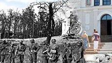 На современных фотографиях жителя Воронежа проявились призраки прошлого