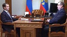 Степашин поделился с Медведевым опасениями по поводу роста инфляции