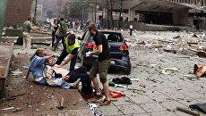 Пострадавшие после взрыва в центре Осло