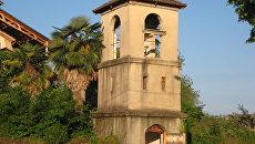 Древний храм Лыхны в Абхазии