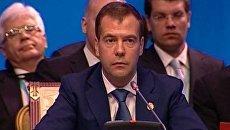Медведев высказался за более тесное сотрудничество Афганистана с ШОС