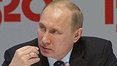 Путин рассказал, что думает о запрете на ввоз дурно пахнущих огурцов
