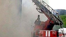 Торговый центр в Мурманске тушили больше девяти часов. Видео с места ЧП
