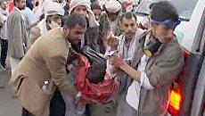 Над головами демонстрантов в Йемене свистят пули