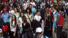 Около двадцати тысяч человек приняли участие в Белградском марафоне