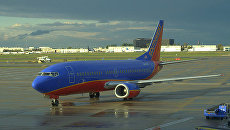 Boeing 737 300 компании Southwest Airlines. Архивное фото