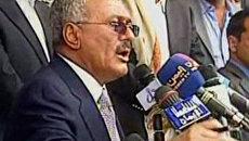 Президент Йемена призвал сторонников к дальнейшей борьбе с оппозицией