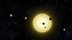 Планетная система Kepler-80 глазами художника