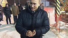 Путин заложил монету в основание аэропорта стоимостью 1,2 миллиарда евро