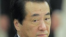 Премьер-министр Японии Наото Кан. Архив