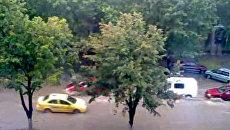 Ливень в Кишиневе