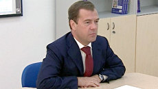 Медведев провел Урок мира, а Путин заложил капсулу времени