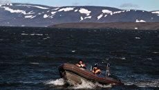Экспедиция морского спасательного буксира МЧС Неотразимый в район архипелага Новая Земля