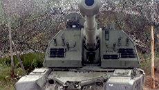 Офицеры на артиллерийских состязаниях поражают цель за 1-2 минуты
