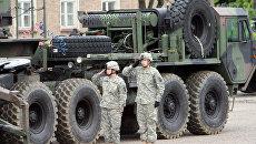 Американские ракеты Patriot в Польше. Архивное фото