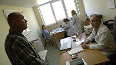 Медицинские работники. Архивное фото