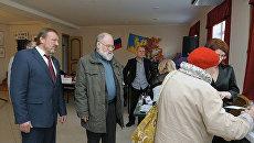 Глава ЦИК Чуров проверил ход выборов в подмосковном Воскресенске