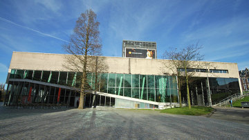 Музей Кюнстхал (Kunsthal) в голландском городе Роттердам