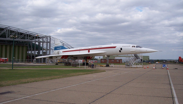 Самолет Конкорд. Архивное фото