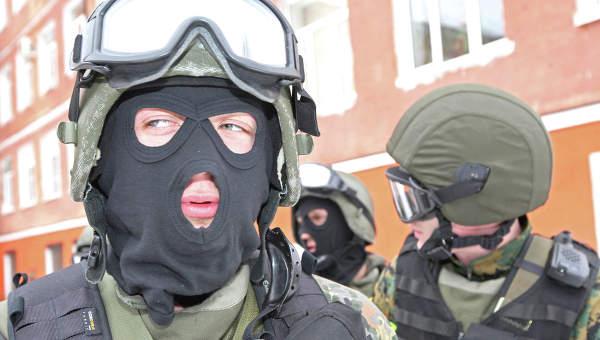 Сотрудники подразделений специального назначения  России. Архивное фото