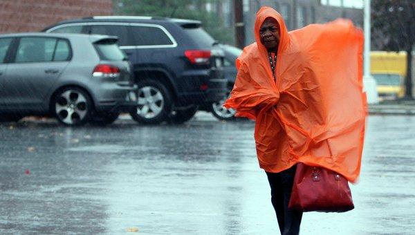 Приближение урагана Сэнди в штате Пенсильвания