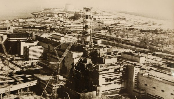 Авария на Чернобыльской АЭС и ее последствия РИА Новости  Фото предоставлено МЧС УкраиныЧернобыльская АЭС Чернобыльская АЭС
